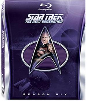 Star Trek The Next Generation: The Complete Season 6 (Blu-Ray)