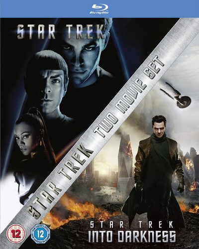 Star Trek XI & Into Darkness Blu-ray