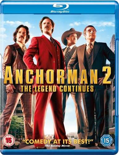 Anchorman 2  [Blu-ray]
