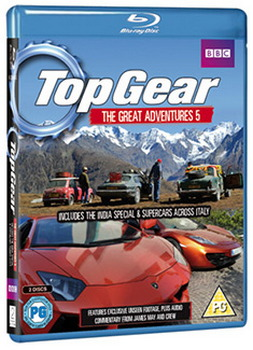 Top Gear - The Great Adventures 5 (Blu-ray)