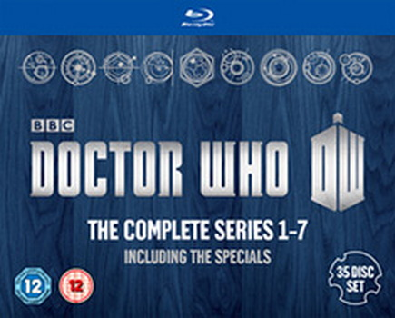 Doctor Who - Complete Series 1 To 7 (BLU-RAY)