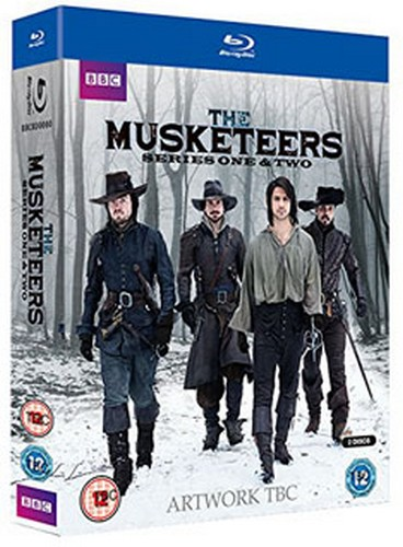 The Musketeers: Series 1 and 2 (Blu-ray)
