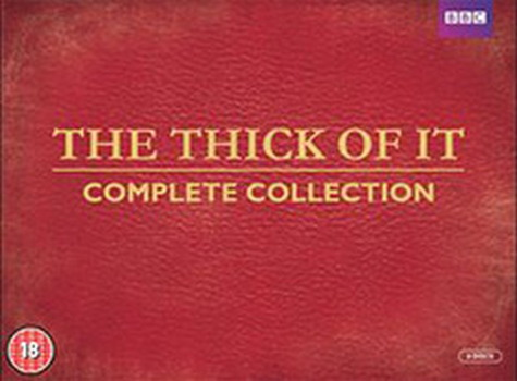 The Thick Of It - Complete Series 1-4 (DVD)