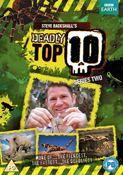 Steve Backshall'S Deadly Top 10: Series 2 (DVD)