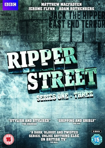 Ripper Street: Series 1-3 (DVD)