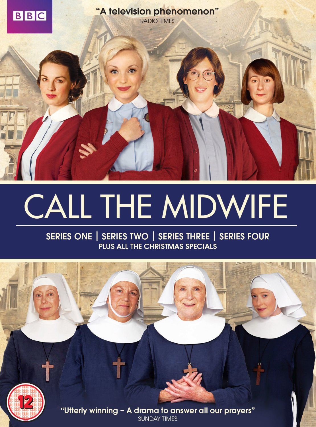 Call The Midwife Series 1- 4 Plus Christmas Specials (DVD)