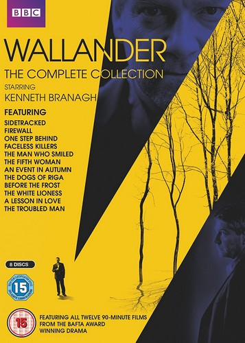 Wallander - The Complete Collection - Series 1-4