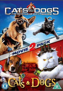 Cats And Dogs / Cats And Dogs 2 - The Revenge Of Kitty Galore (DVD)