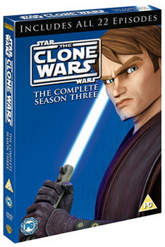 Star Wars: The Clone Wars - The Complete Season Three (DVD)
