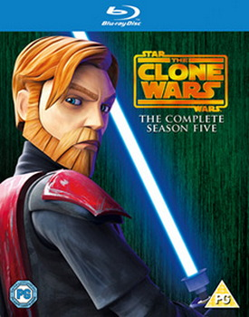 Star Wars: The Clone Wars - The Complete Season Five (Blu-Ray)