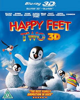 Happy Feet Two (Blu-ray 3D + Blu-ray) (Region Free)