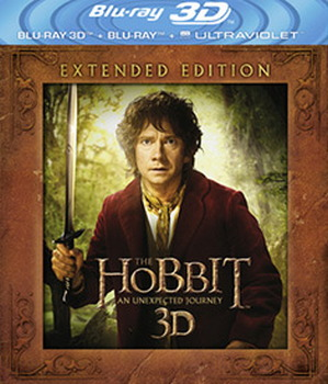 The Hobbit: An Unexpected Journey: Extended Edition (3D Blu-Ray / Blu Ray / UV)