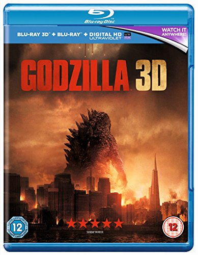 Godzilla (Blu-ray 3D + Blu-ray + UV Copy) (2014)