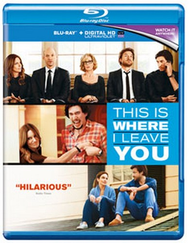 This Is Where I Leave You (Region Free) (Blu-ray)