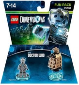 LEGO Dimensions - Doctor Who - Cyberman and Dalek Fun Pack