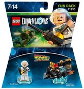 LEGO Dimensions - Back to the Future - Doc Brown Fun Pack