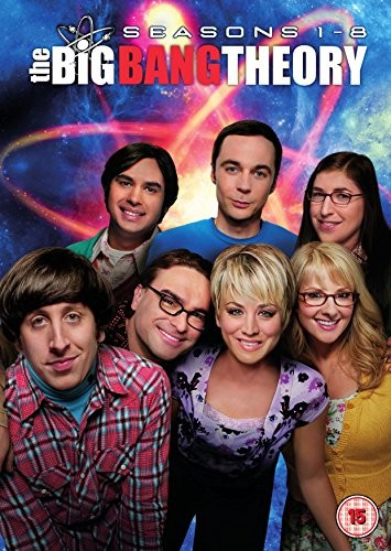 The Big Bang Theory - Season 1-8 (DVD)