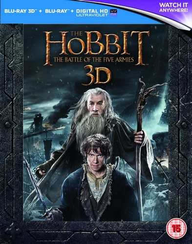 The Hobbit: The Battle Of The Five Armies - Extended Edition [Blu-ray]