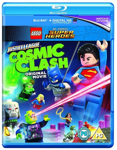 Lego: Justice League - Cosmic Clash [Blu-ray]