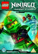 Lego Ninjago - Masters Of Spinjitzu: Tournament Of Elements (DVD)