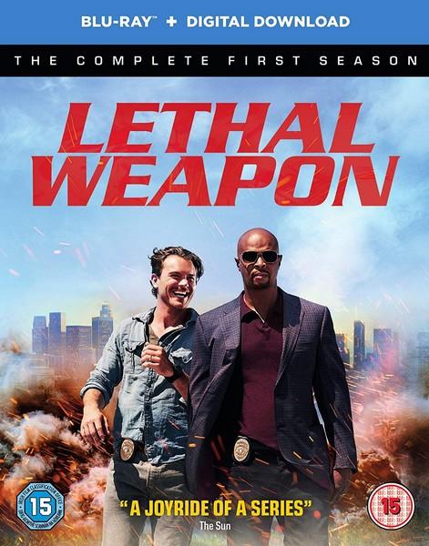Lethal Weapon - Season 1 [Blu-Ray] [2017] (Blu-Ray) (DVD)