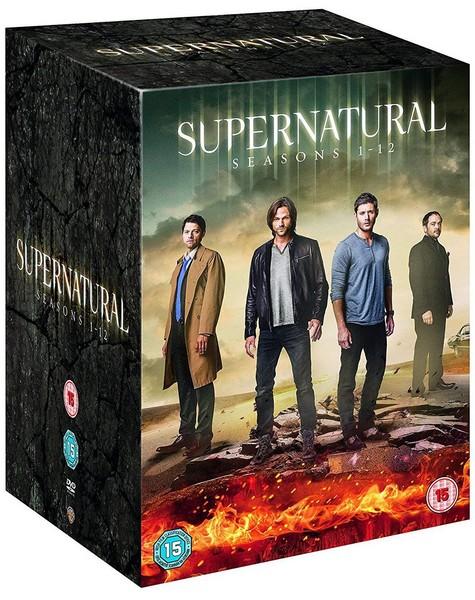 Supernatural: Seasons 1-12 (DVD)