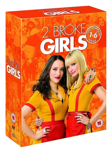 2 Broke Girls: The Complete Series 1-6 [DVD] [2017]