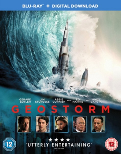 Geostorm [Blu-ray + Digital Download] [2017] [Region Free] (Blu-ray)