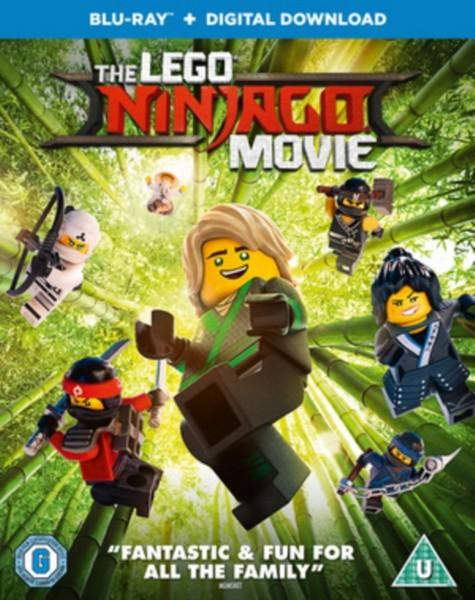 The LEGO Ninjago Movie [Blu-ray + Digital Download] [2017] [Region Free]