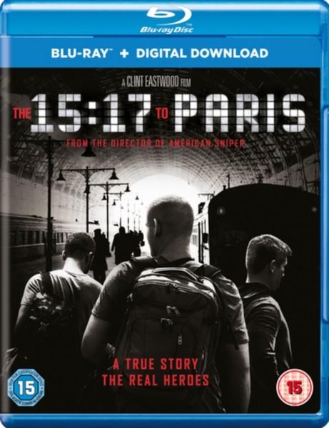 The 15:17 to Paris  [2018] (Blu-ray)