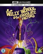 Willy Wonka & The Chocolate Factory [4K Ultra HD] [1971] [Blu-ray]