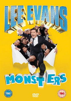 Lee Evans - Monsters Live (DVD)