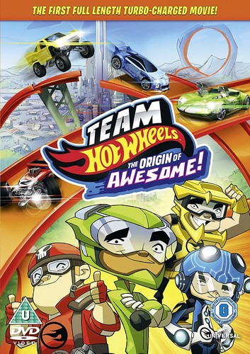 Team Hotwheels The Origin Awesome! (DVD)