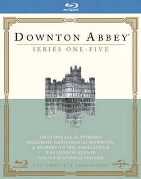 Downton Abbey - Series 1 To 5 / Christmas (2011) / Journey To The Highlands (2012) / London Season ( (BLU-RAY)