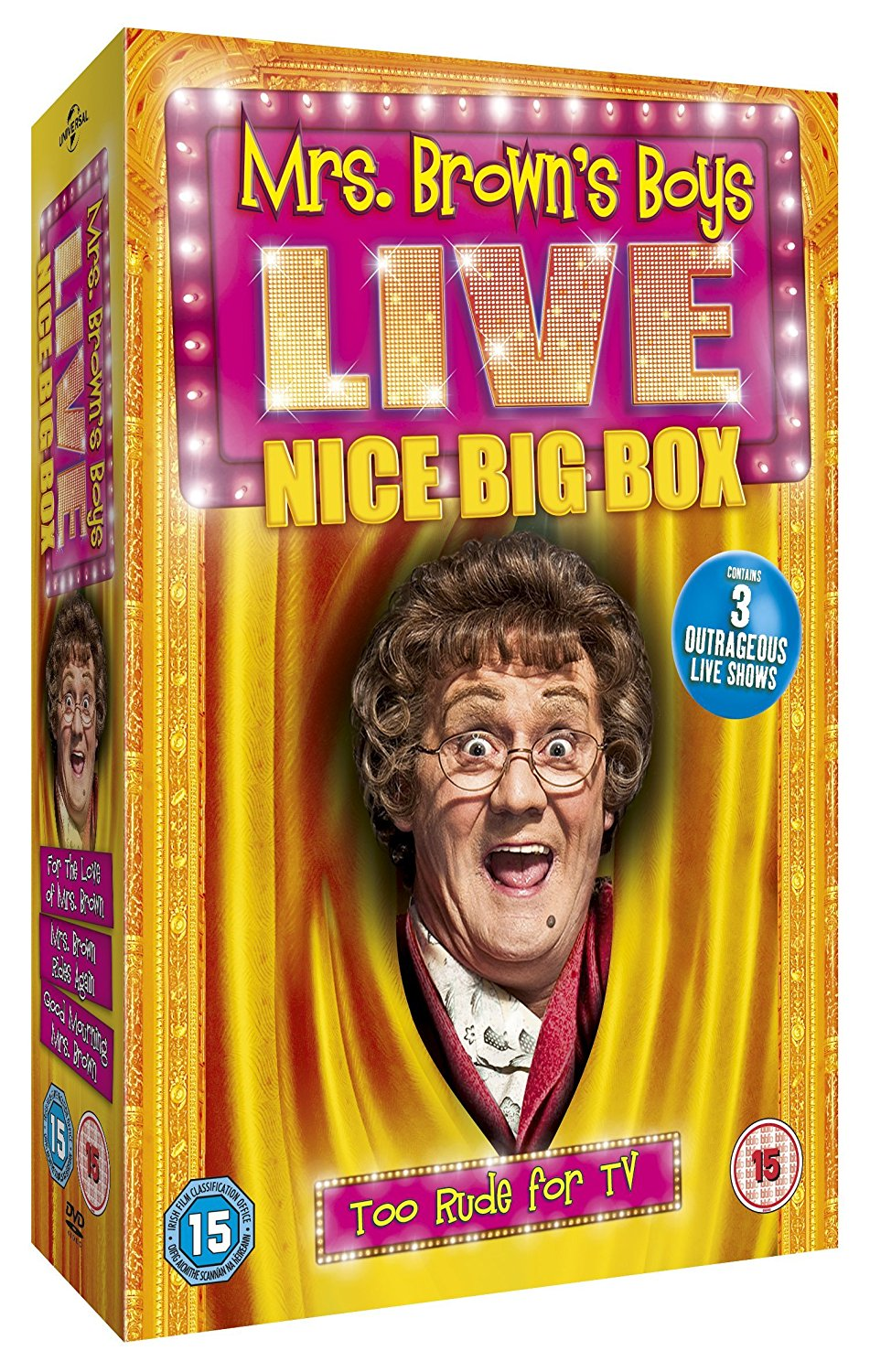 Mrs. Brown'S Boys Live - Nice Big Box (DVD)