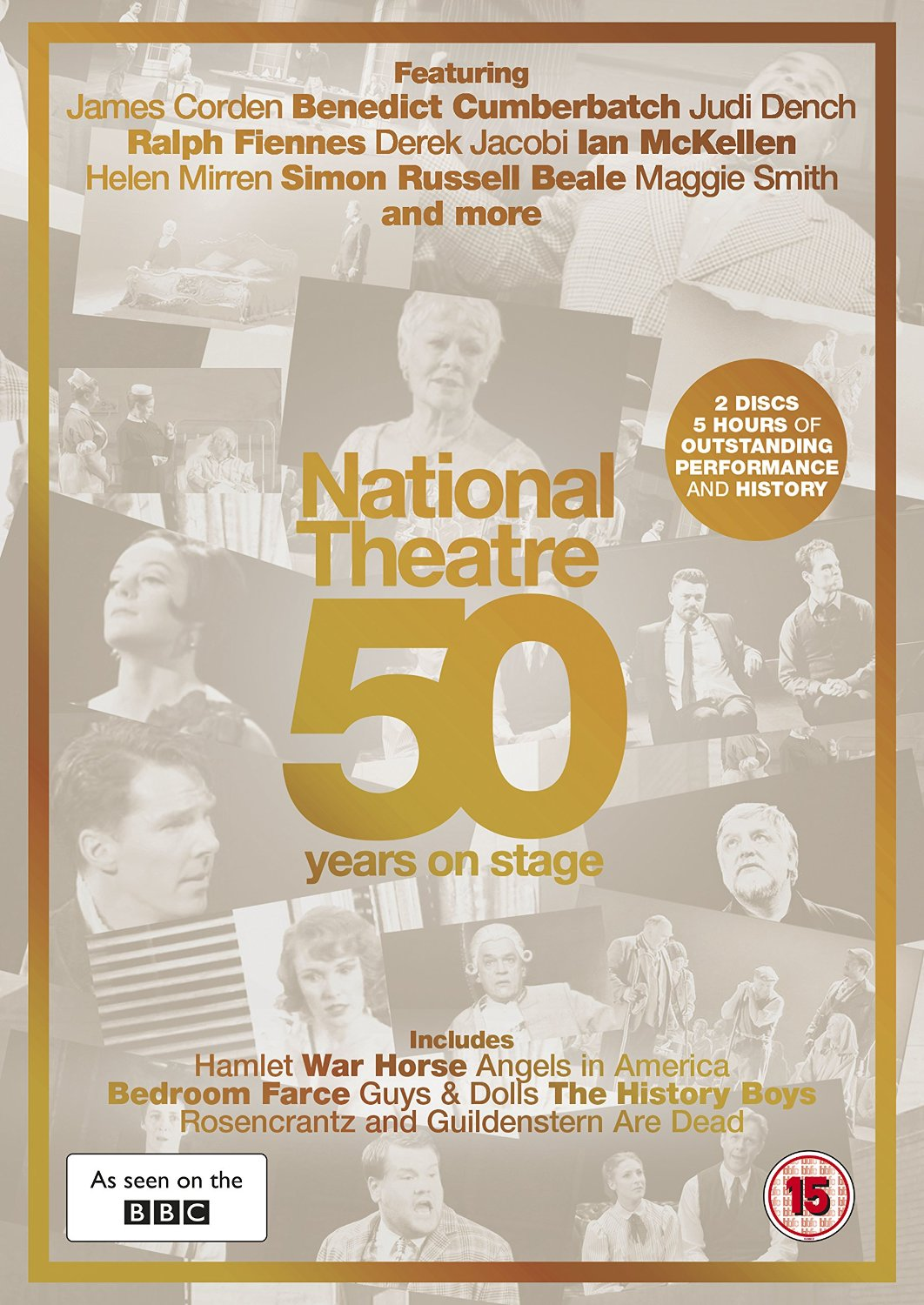 National Theatre Live: 50 Years On Stage (DVD)