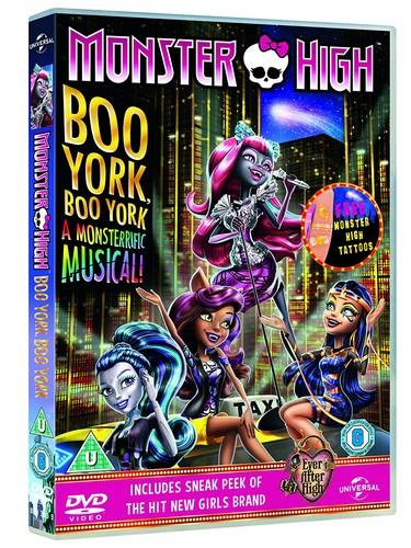 Monster High: Boo York! Boo York! (includes Monsterific Gift)