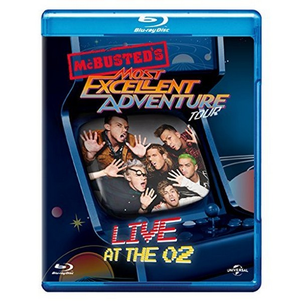 McBusted Most Excellent Adventure Tour - Live At The O2 (Blu-ray)