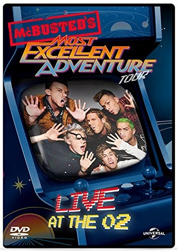 Mcbusted Most Excellent Adventure Tour - Live At The O2 (DVD)