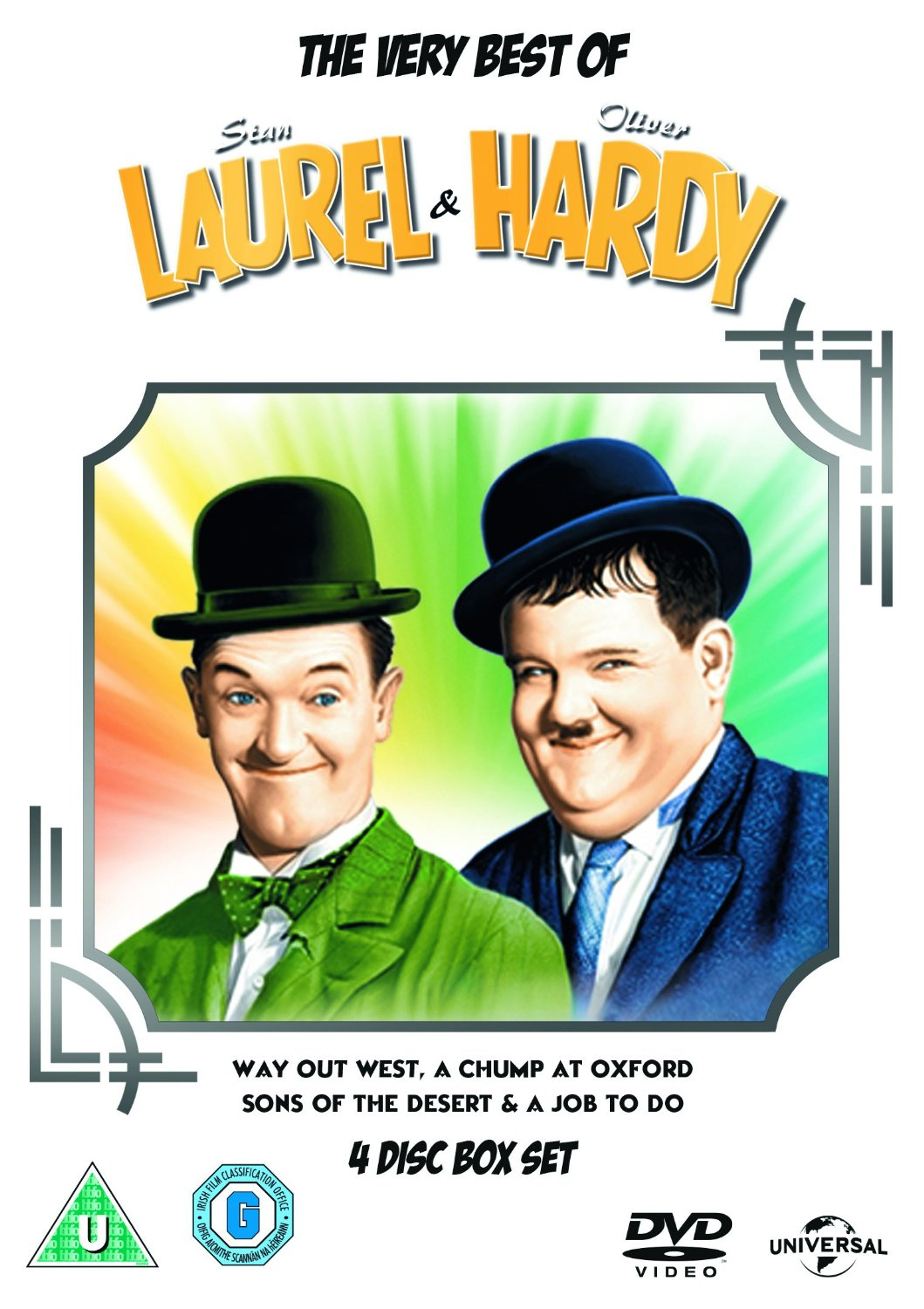 The Very Best Of Laurel And Hardy (DVD)