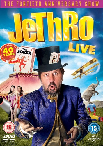 Jethro Live: 40 Years The Joker (DVD)