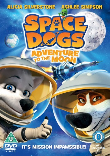 Space Dogs - Adventure To The Moon (DVD)