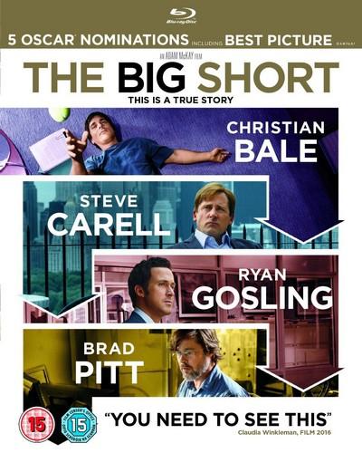 The Big Short [Blu-ray] [2015] (Blu-ray)