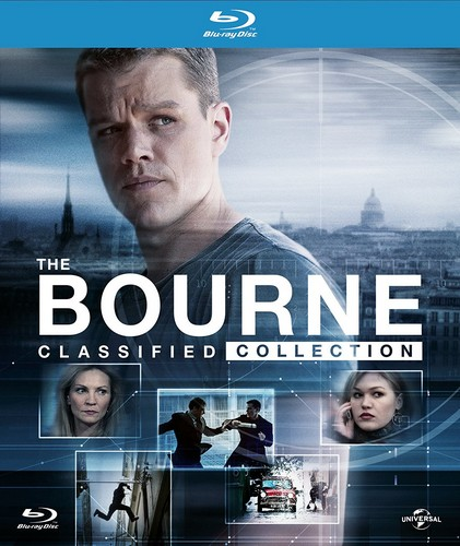 The Bourne Classified Collection (Digibook)(Blu-ray)