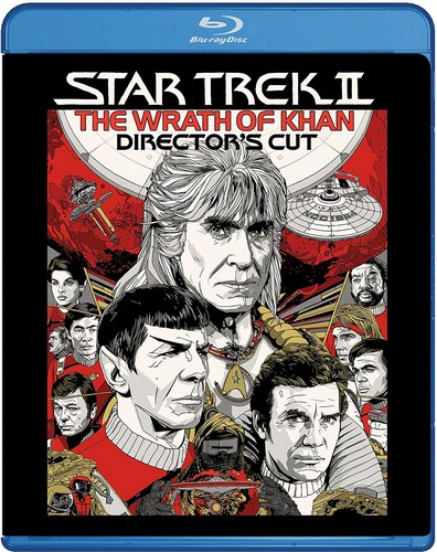 Star Trek 2 - The Wrath Of Khan (Director's Cut) (Blu-ray)