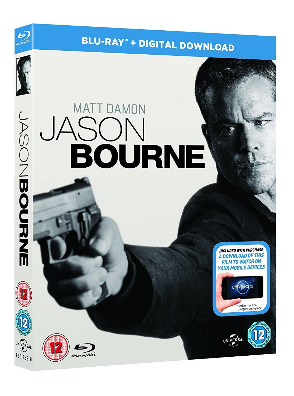 Jason Bourne (Blu-ray + UV)