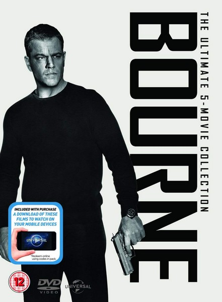 The Bourne Collection (1-5 Boxset)