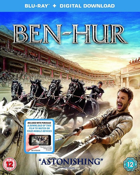 Ben Hur (Blu-ray + Digital Download)