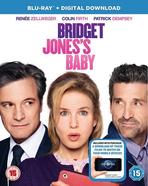 Bridget Jones's Baby (Blu-ray + UV Copy)