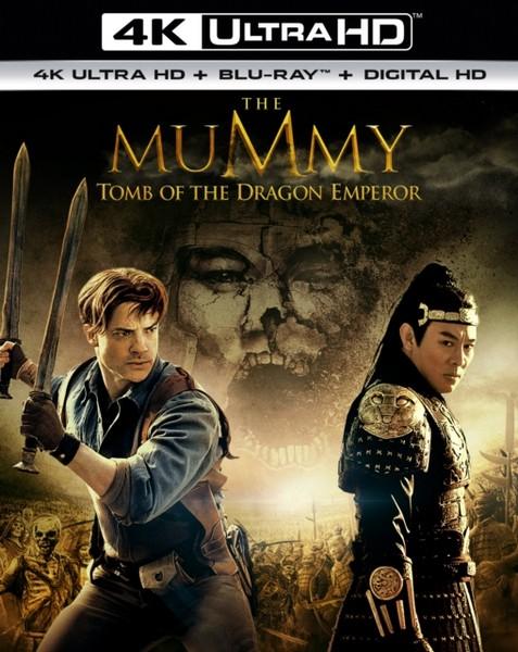 The Mummy: Tomb Of The Dragon Emperor (4K UHD Blu-ray + Blu-Ray)